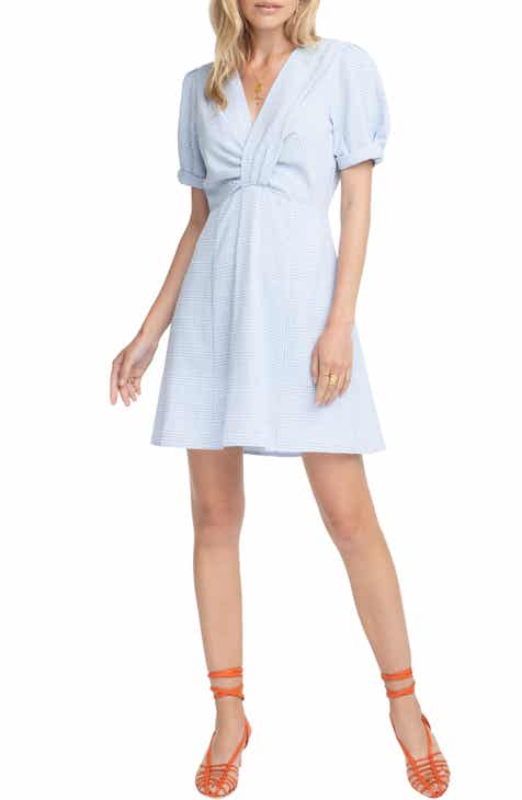 ASTR the Label Taylor Fit & Flare Dress