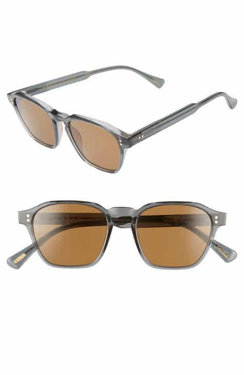9061b49ebf RAEN Aren 50mm Polarized Round Sunglasses