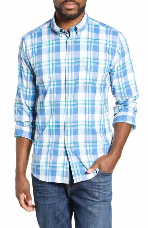 1e5432ad362 Barbour Tailored Fit Minster Plaid Performance Shirt