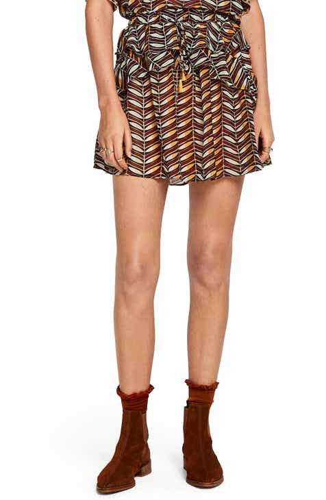 Scotch & Soda Print Ruffle Skirt by SCOTCH AND SODA