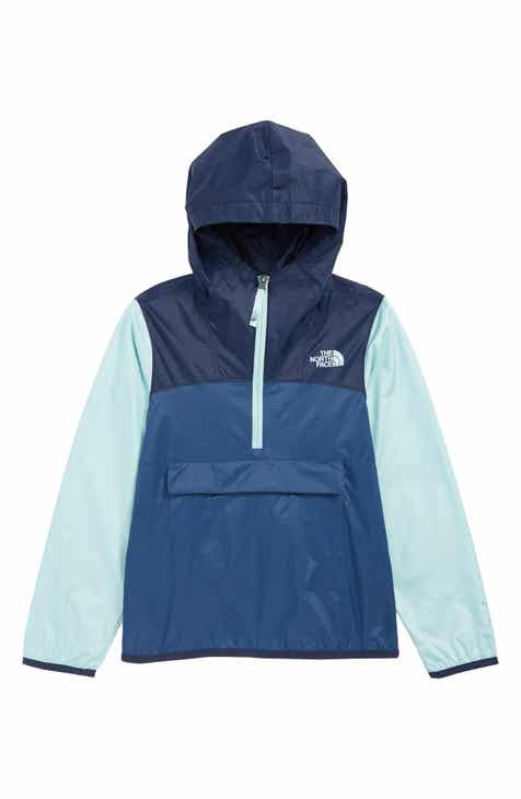 c2e445d83009a The North Face Fanorak Water Repellent Hooded Windbreaker (Big Boys)