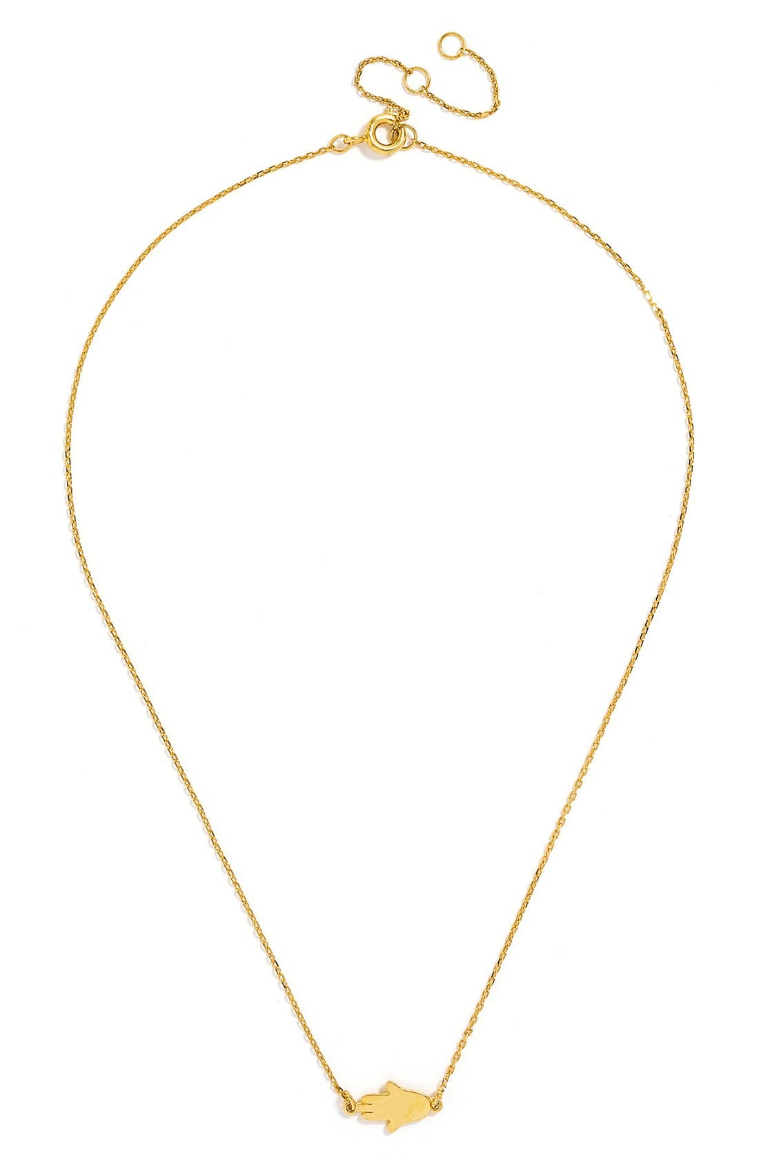 'Pyramid' Layered Necklace Gift Set,                             Alternate thumbnail 3, color,                             Gold