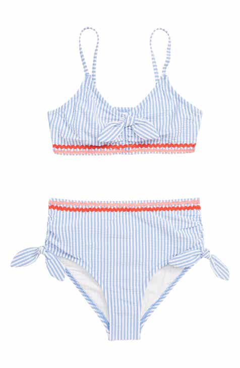 6e43f9ae10dc7 crewcuts by J.Crew Seersucker Two-Piece Swimsuit (Toddler Girls