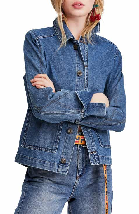 b6e64f8b15d BDG Urban Outfitters Denim Utility Jacket