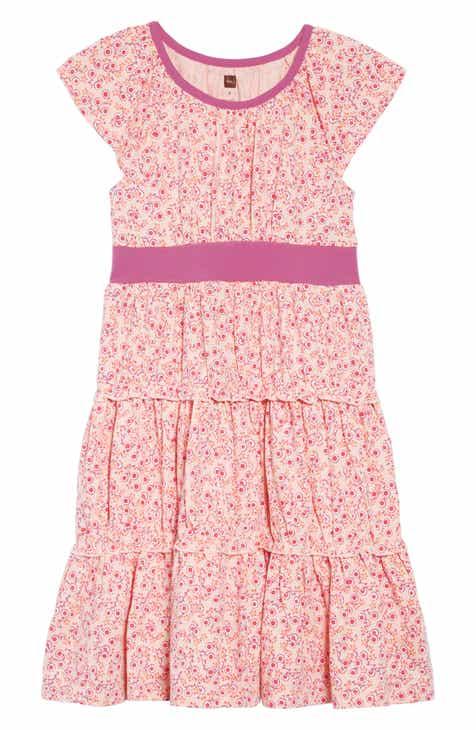 30bdbc4db26b Tea Collection Print Tiered Twirl Dress (Toddler Girls