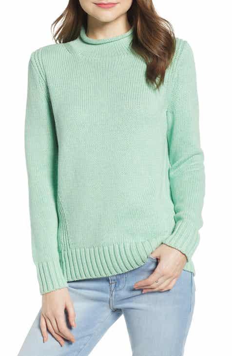 6a776b1de1 J.Crew 1988 Roll Neck Cotton Sweater (Regular   Plus Size)