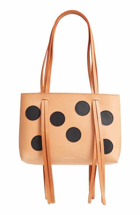 62eb0dba8d33 Mansur Gavriel Mini Fringe Dots Leather Bag