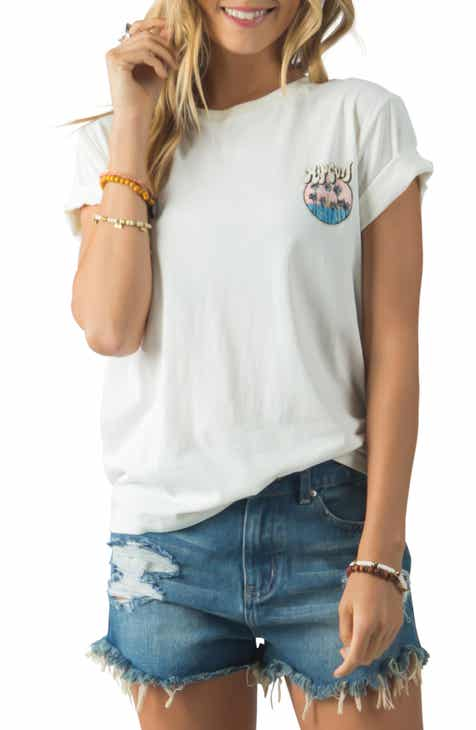 60bfd45d1 New Women's Short Sleeve Tops, Blouses and Tees | Nordstrom
