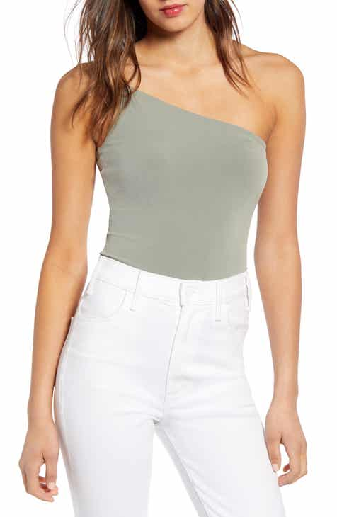 1f0c47842f Leith One-Shoulder Bodysuit