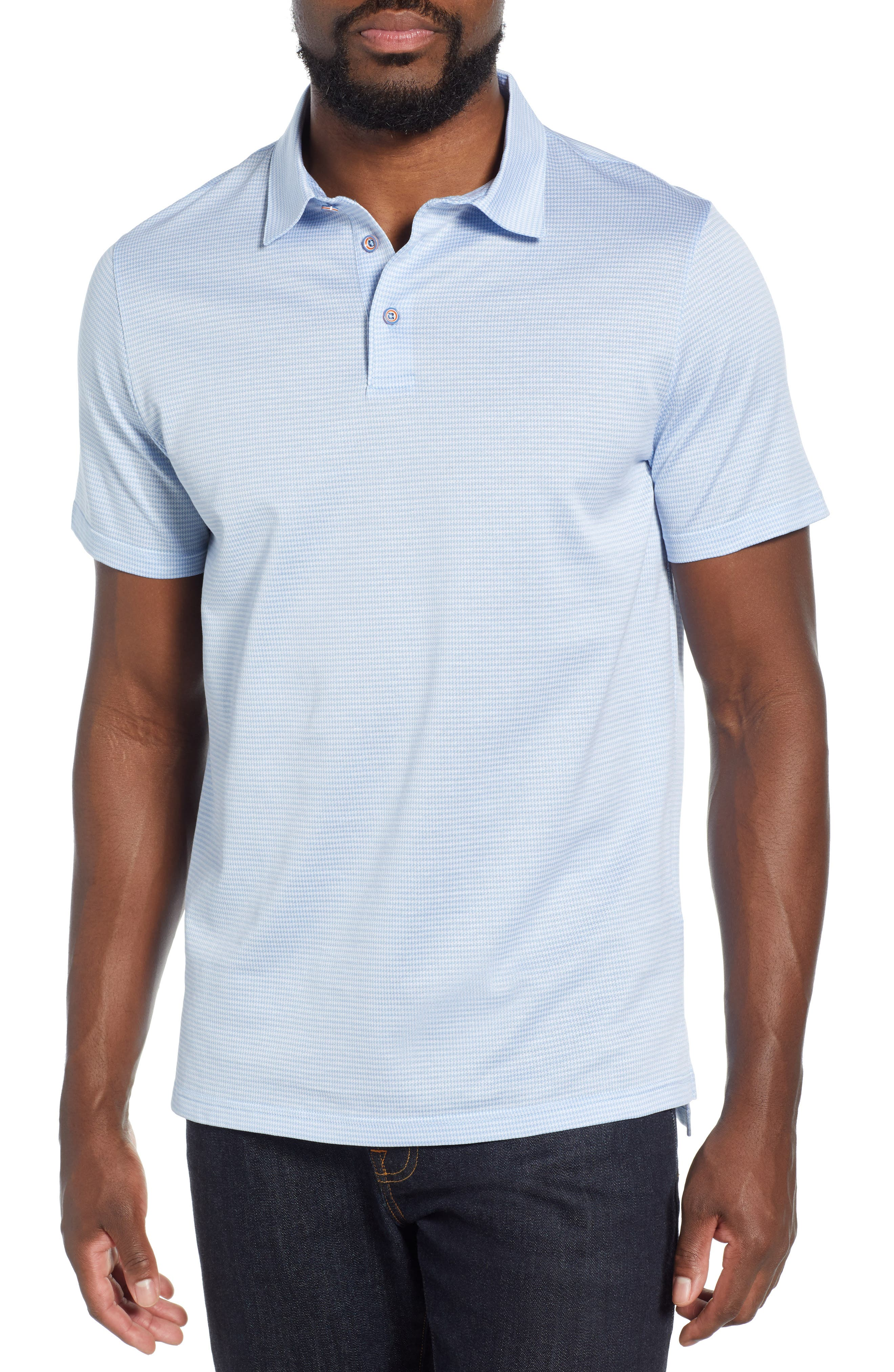 43bf2ad3 Men's Check & Plaid Polo Shirts | Nordstrom