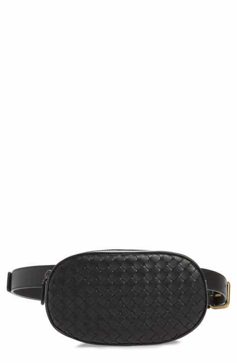6964c99a6b82 Bottega Veneta Intrecciato Woven Leather Belt Bag