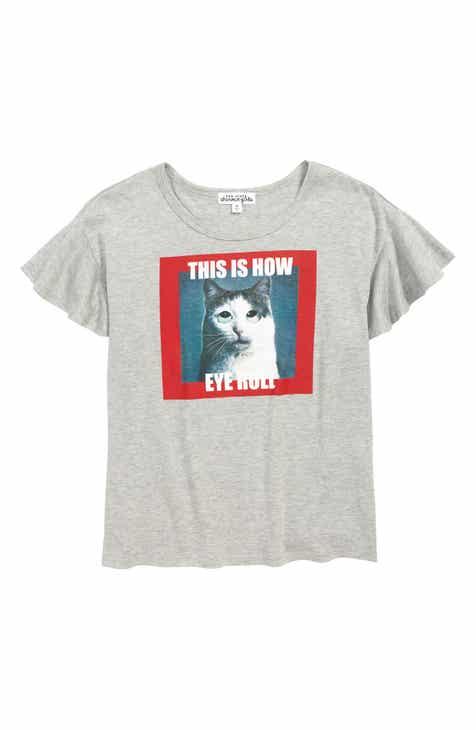 d351ac762885d Ten Sixty Sherman This Is How Eye Roll Graphic T-Shirt (Big Girls)