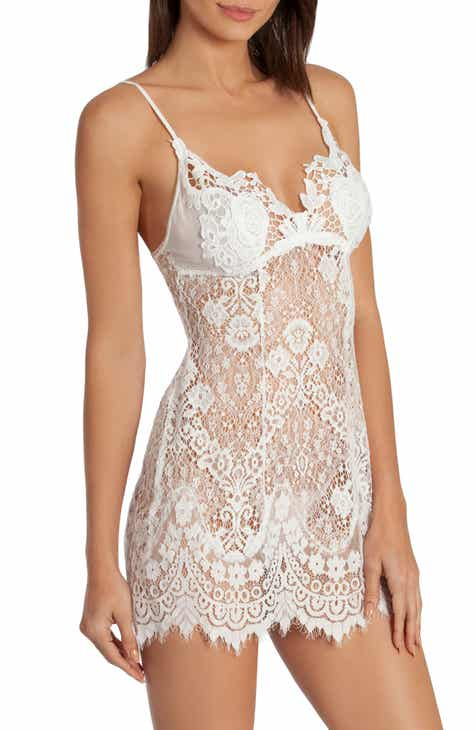 c0850e2e5b3e In Bloom by Jonquil Sheer Lace Chemise