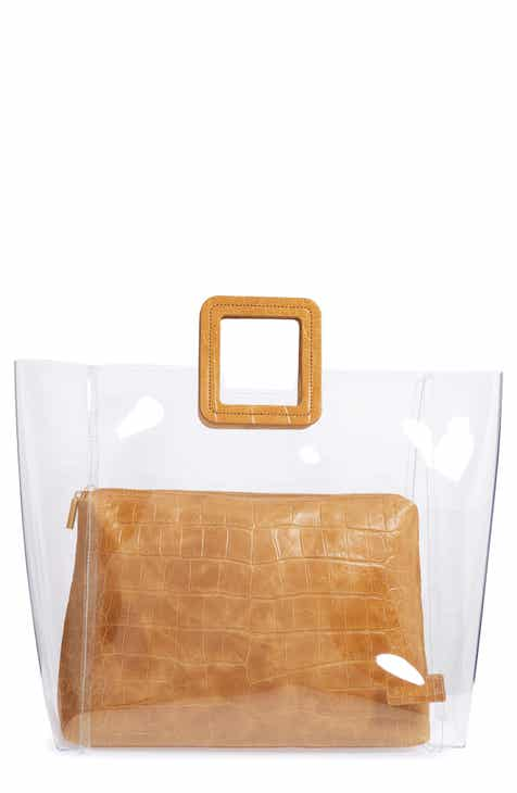STAUD Large Shirley Transparent Handbag 829c2f783681a