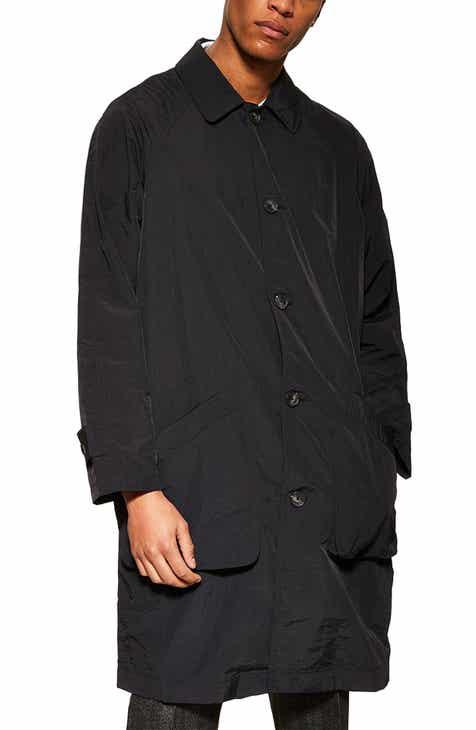 9e7aa48027f55 Topman Crinkle Nylon Mac Jacket