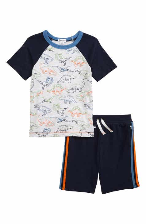 268eb2e4dc1 Splendid Dinosaur Print Shirt   Shorts Set (Toddler Boys   Little Boys)