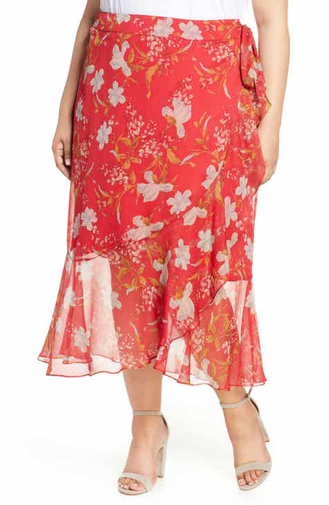 ModCloth Just This Sway A-Line Skirt (Regular & Plus Size) by MODCLOTH