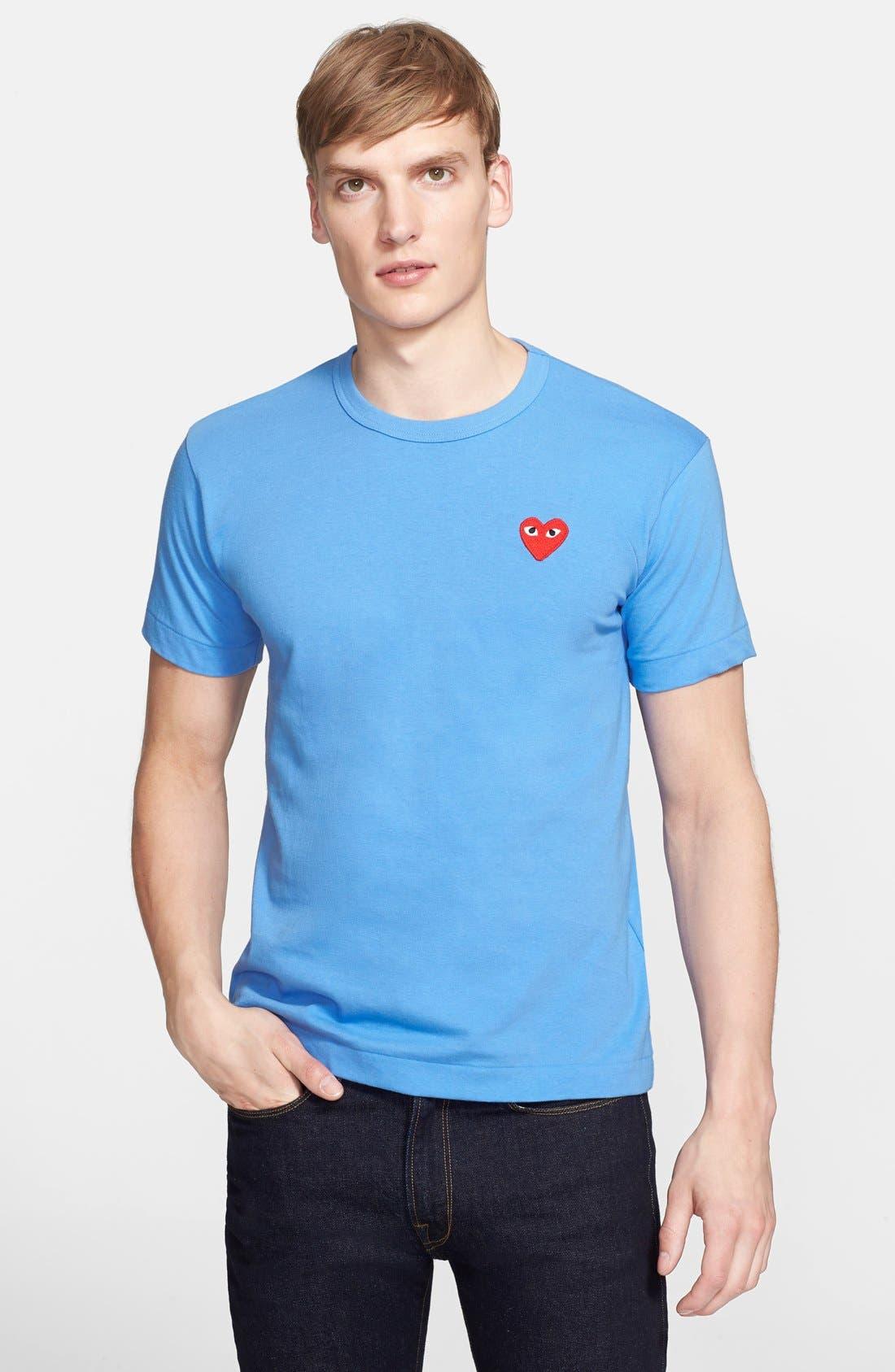 Alternate Image 1 Selected - Comme des Garçons PLAY Cotton Jersey T-Shirt