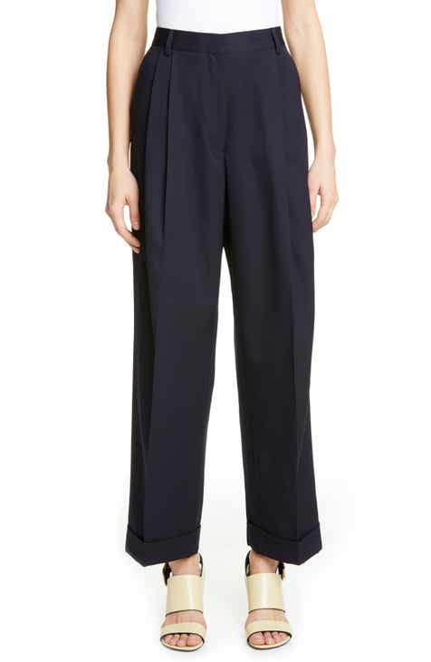 Dries Van Noten Paola Pleated Wool Pants by DRIES VAN NOTEN