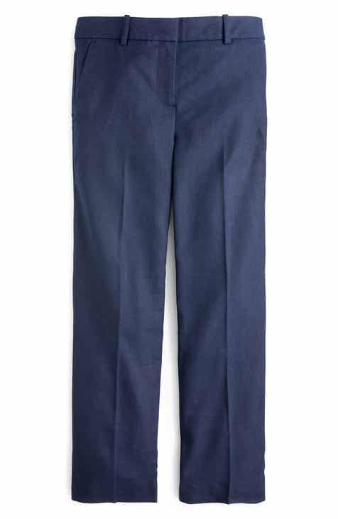 0293c8a4c05 J.Crew Peyton Linen Blend Wide Leg Pants