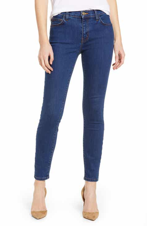 c71baffc7b Current Elliott The Stiletto High Waist Ankle Skinny Jeans (Scorpio)