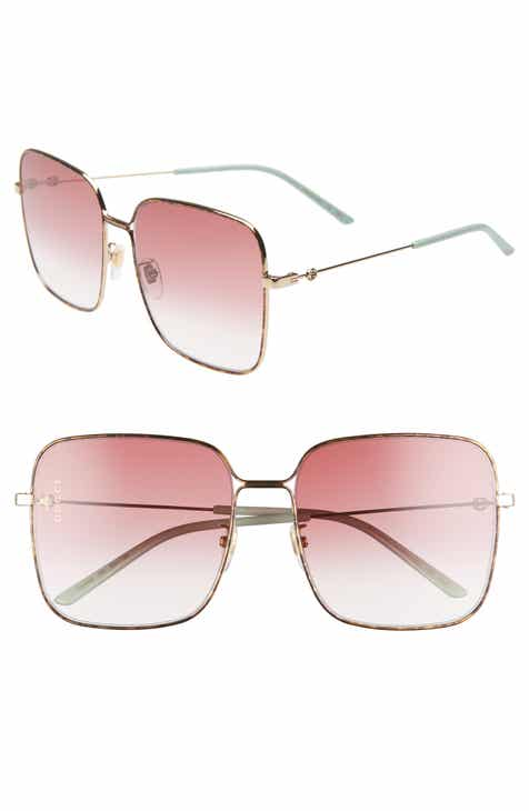 ef5b74daeb5 Gucci 60mm Gradient Square Sunglasses