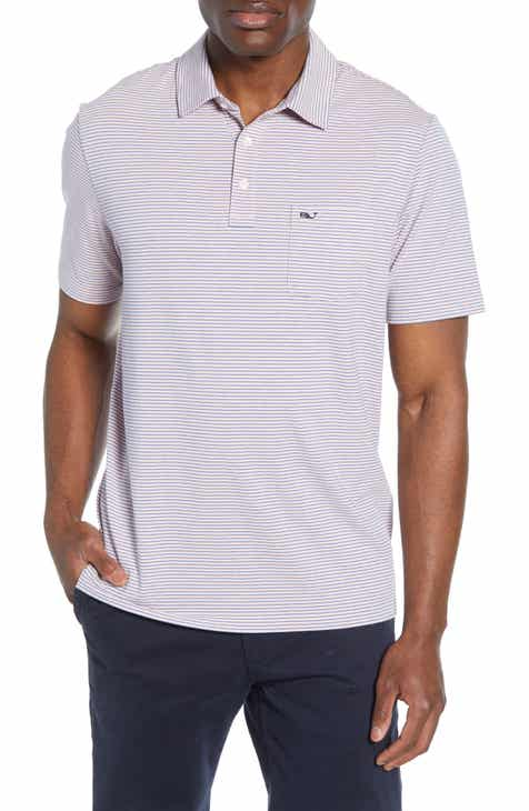 1234d6c3e1 vineyard vines Edgartown Pinstripe Pocket Polo