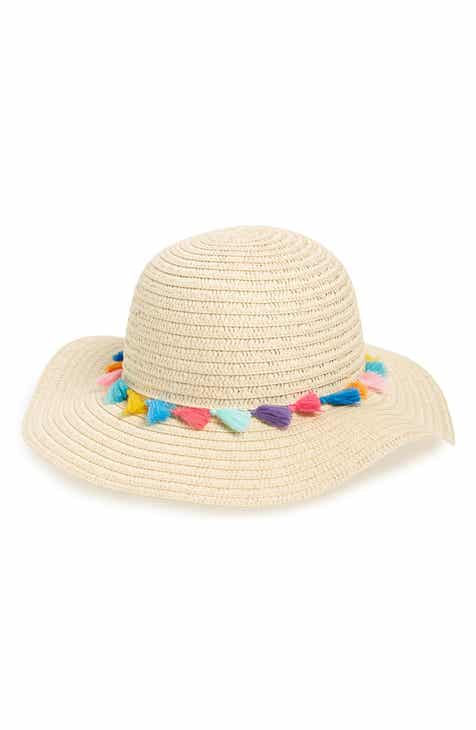 6c0e334e887 Tucker + Tate Pompom Floppy Straw Hat (Kids)