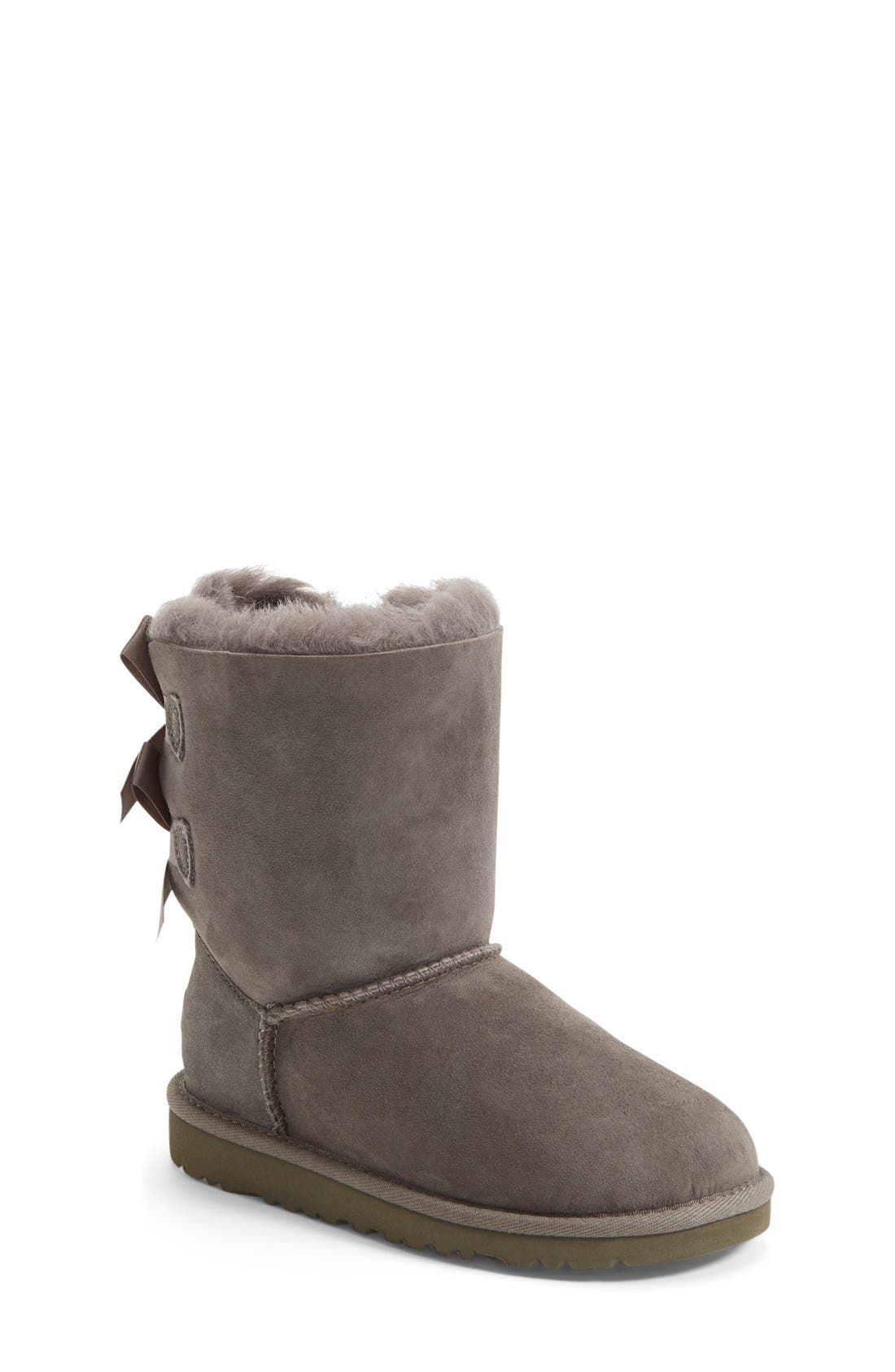 Main Image - UGG® Bailey Bow Boot (Walker, Toddler, Little Kid & Big Kid)