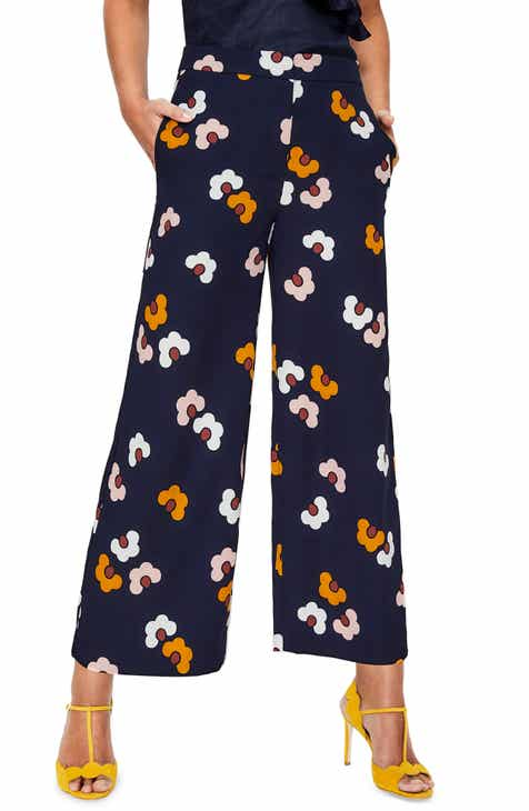 Boden Exeter Wide-Leg Crop Pants (Regular & Petite) by BODEN
