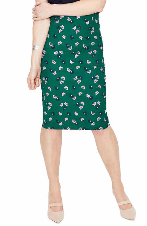 baca36b382 Boden Richmond Stretch Cotton Pencil Skirt