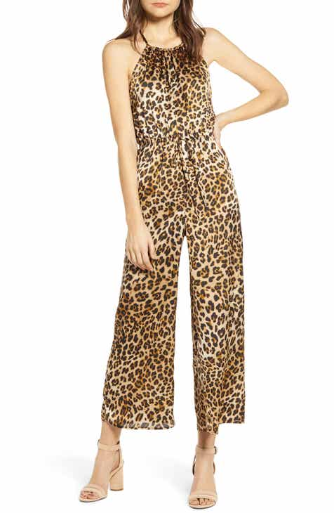 1.STATE Mirage Wrap Front Flounce Sleeve Jumpsuit by 1.STATE