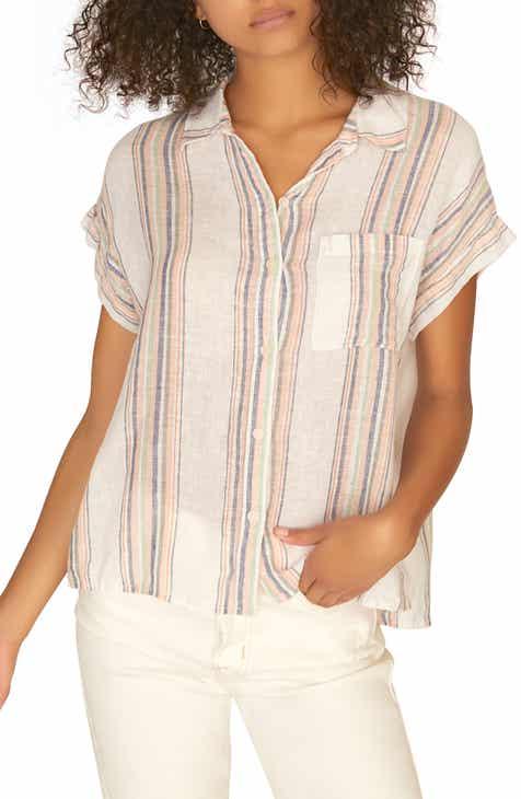 eaeaec016f6074 Sanctuary Mod Boyfriend Shirt (Regular   Petite)