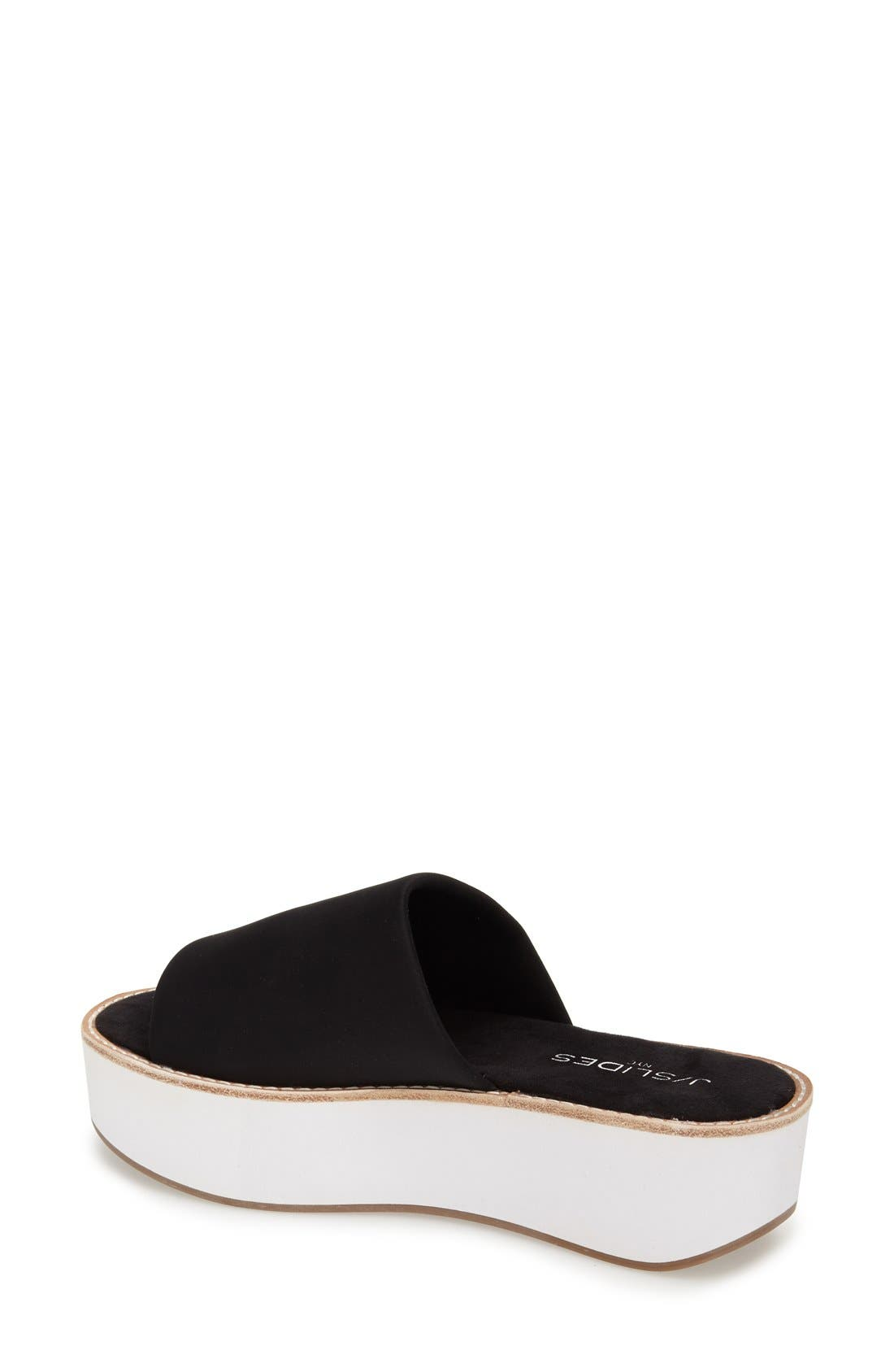 Alternate Image 2  - JSlides 'Blinky' Flatform Slide Sandal (Women)