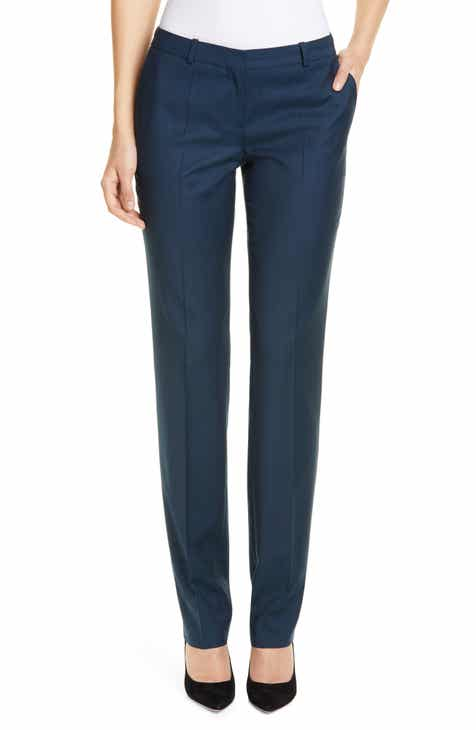 2f7c239ba BOSS Titana Wool Trousers (Regular & Petite)