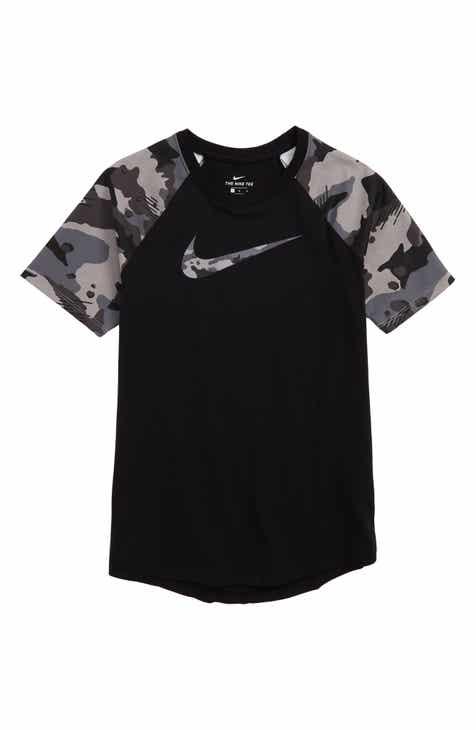 7ede9a945bfb Nike Sportswear Camo Raglan T-Shirt (Little Boys   Big Boys)