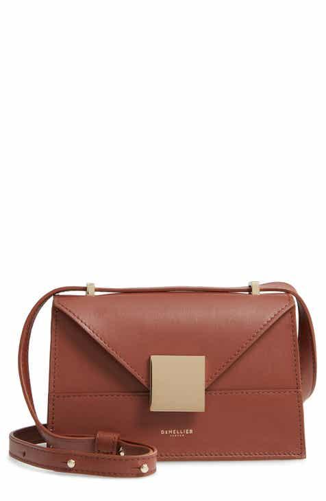 4e2eef9c31c DeMellier Mini Copenhagen Leather Crossbody Bag