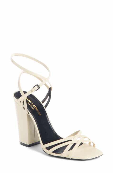 Saint Laurent Oak Crisscross Sandal (Women)