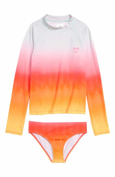 ebc30e60e518f Billabong Hazy Daze Two-Piece Rashguard (Little Girls & Big Girls)