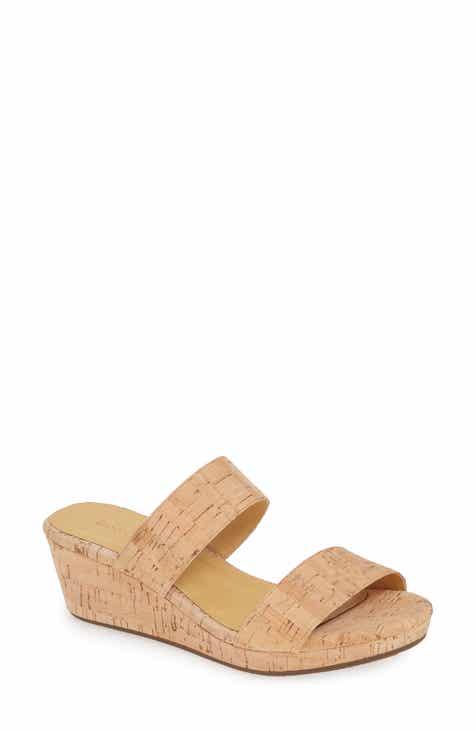 81b61e10133f Chocolat Blu Yael Platform Wedge Slide Sandal (Women)