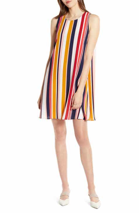 67313bafb5e Halogen® A-Line Dress (Regular   Petite)