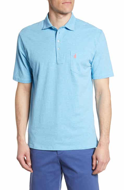 johnnie-O Classic Fit Heathered Polo