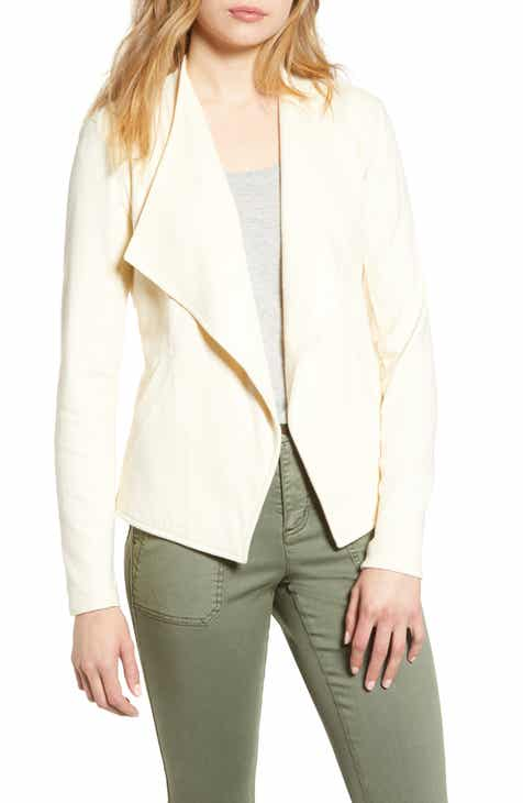 747b987937f Caslon® Drape Collar Knit Blazer (Regular & Petite). Sale:$38.90