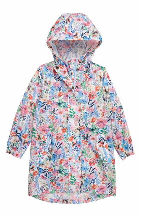 fde5c96debd50 Joules Golightly Packable Waterproof Rain Jacket (Toddler Girls, Little  Girls & Big Girls)
