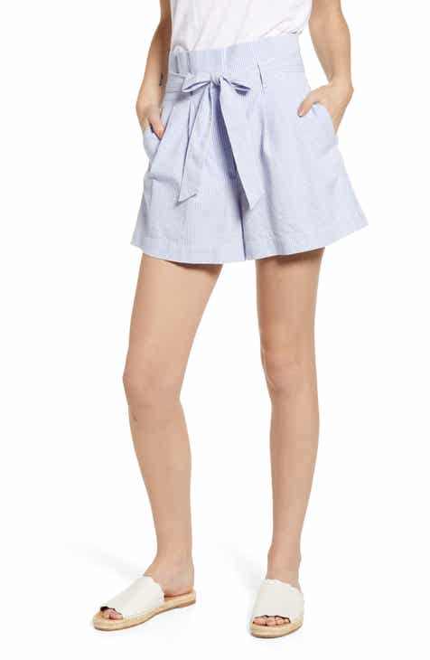 J.Crew Paperbag Seersucker Shorts by J.CREW