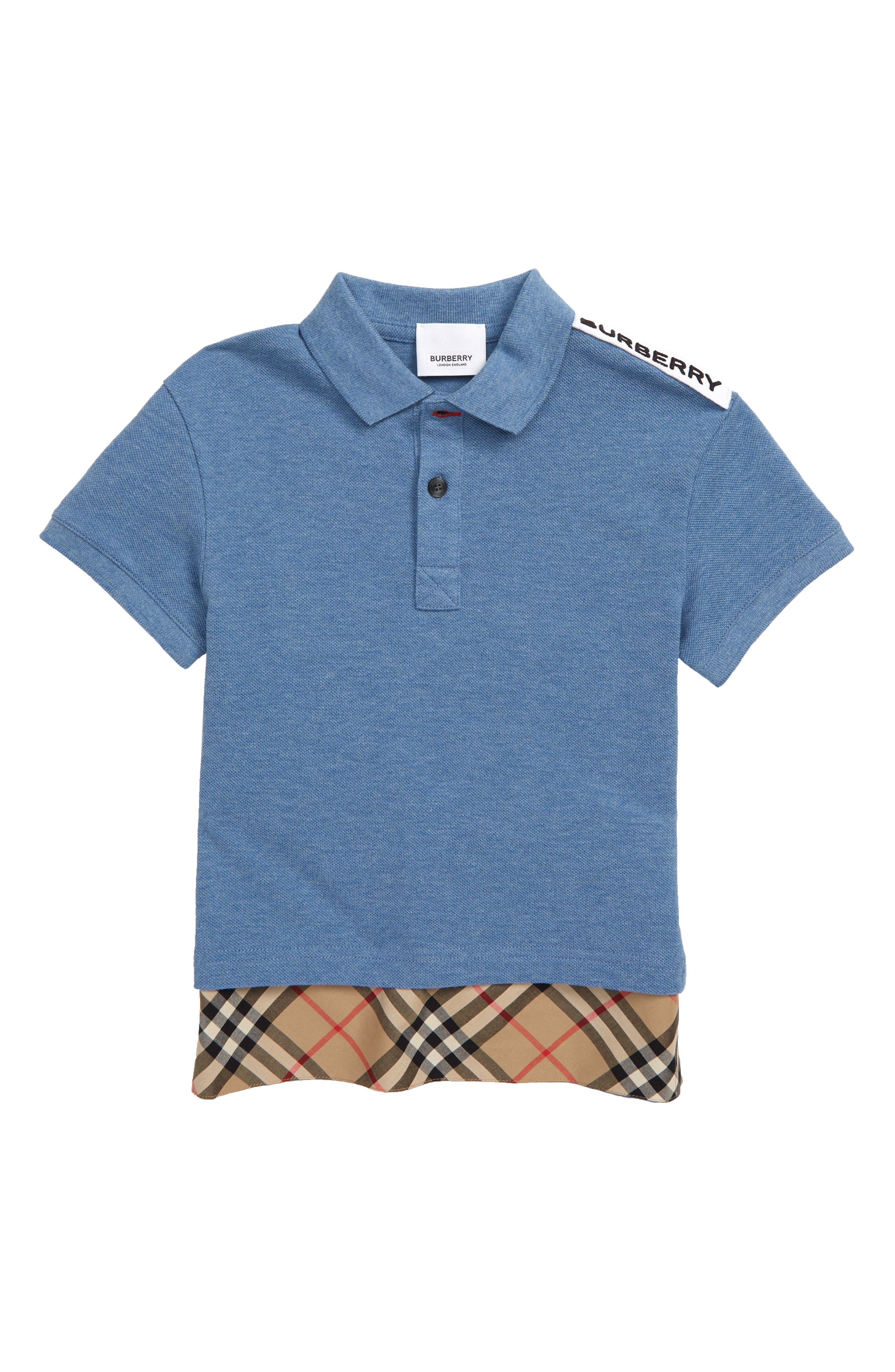 e12950a34 Burberry for Boys Polo Shirts: Clothing, Shoes & Accessories   Nordstrom