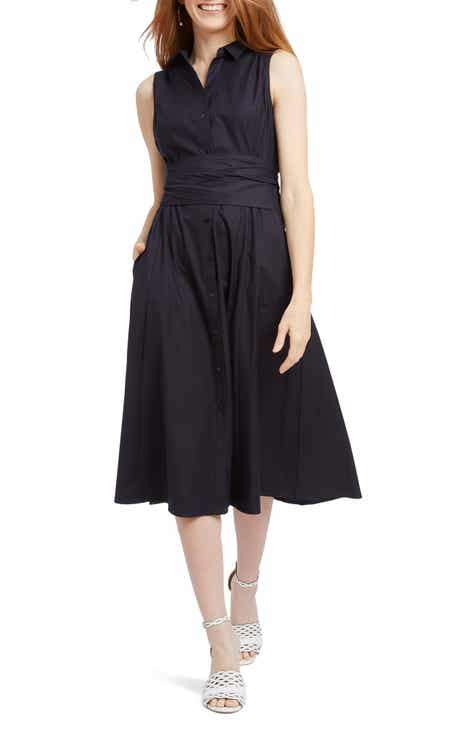 NIC+ZOE Santa Monica Sleeveless A-Line Dress