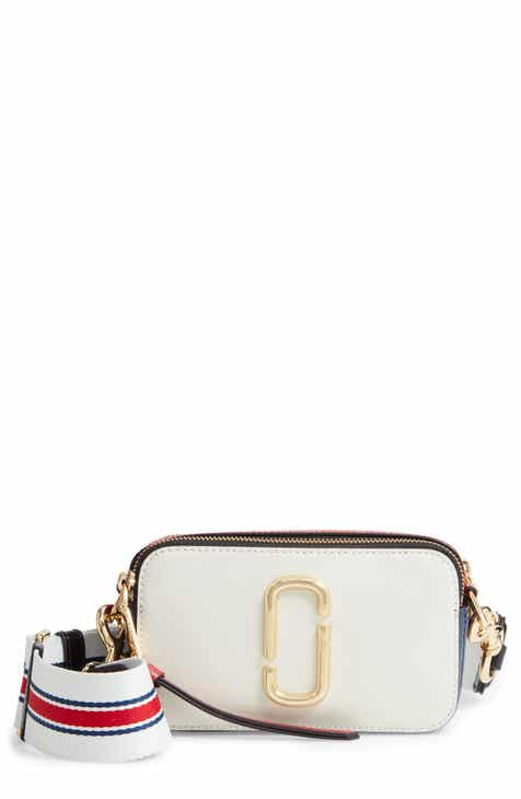 f3e34c04e4549 MARC JACOBS Snapshot Leather Crossbody Bag