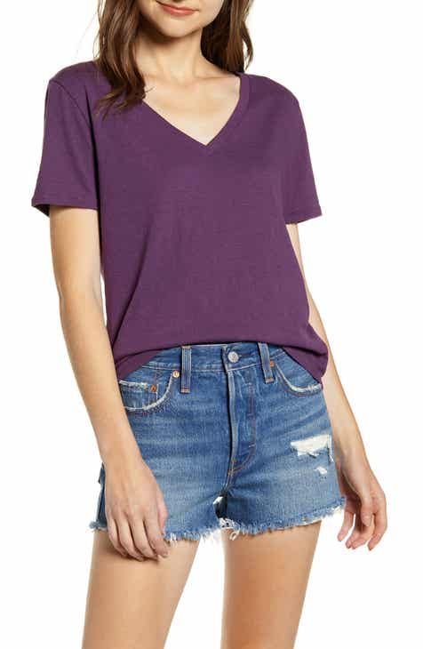 756a76a4 V-Neck Tee (Regular & Plus Size)