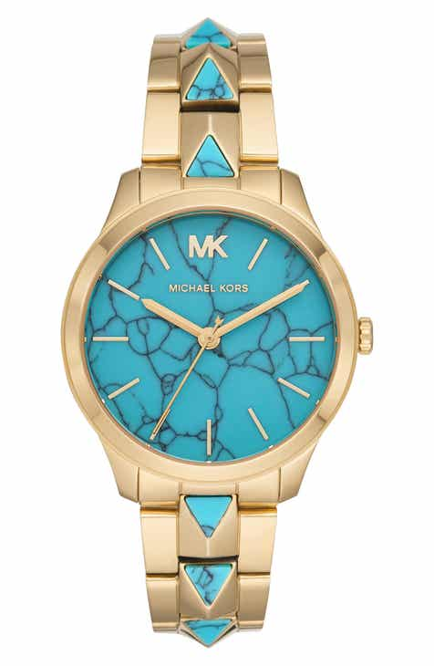 6074531a2ec MICHAEL Michael Kors Runway Mercer Bracelet Watch
